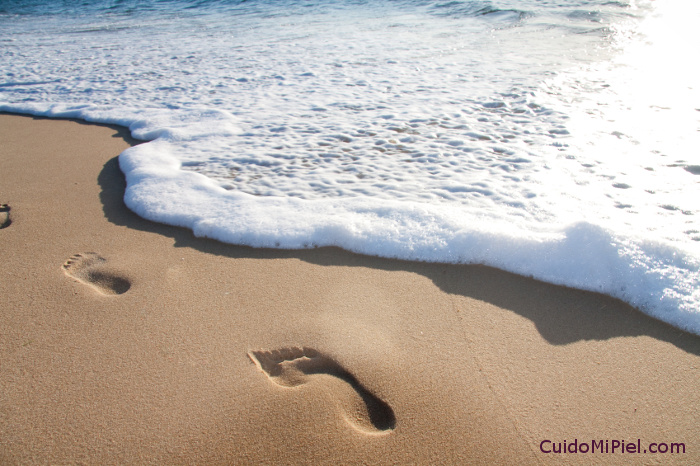 Deja Tu Huella en CuidoMiPiel.com - Huella en el Mar
