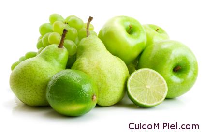 Frutas Verdes y Cítricos - Fuente de Alfahidroxiácidos
